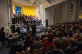 Chor mit Publikum